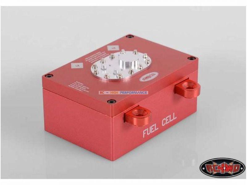 Toyota Hilux ARB RcModelex - Página 4 RCZ-S1122_RC4WD-Billet-Aluminum-Fuel-Cell-Radio-Box-Red