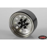 RC4WD Pro10 1.9 Steel Stamped Beadlock Wheel (Silver)...