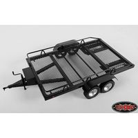RC4WD BigDog 1/8 Dual Axle Scale Car/Truck Trailer Z-H0004