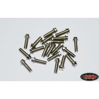 RC4WD RC4WD Miniature Scale Hex Bolts (M2.5 x 8mm)...