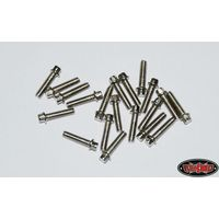 RC4WD RC4WD Miniature Scale Hex Bolts (M2 x 8mm) (Silver)...