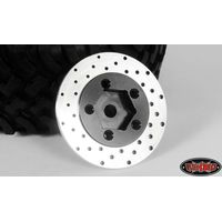 RC4WD 1.9 5 Lug Steel Wheel Hex Hub with Brake Rotor Z-S0532