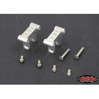 RC4WD Z-S0606 Leaf Spring Mounts for Blackwell Axle (Silver)