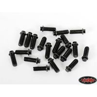 RC4WD Miniature Scale Hex Bolts (M3x8mm) (Black) Z-S0694