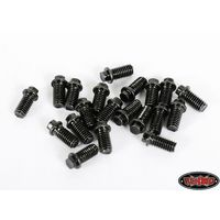 RC4WD Miniature Scale Hex Bolts (M3x6mm) (Black) Z-S0696