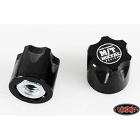 RC4WD Mickey Thompson Metal Series 1/10 Wheel Center Caps...