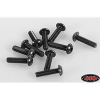 RC4WD Steel Button Head Cap Screws M2.5 x 10mm (10) Z-S0916