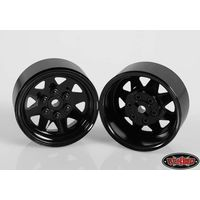 RC4WD 6 Lug Wagon 1.9 Steel Stamped Beadlock Wheels...