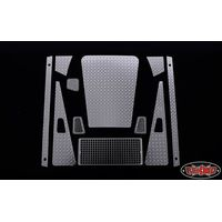 RC4WD SLVR Diamond Plate Accessory Pack for Defender D90...