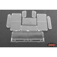 RC4WD Land Rover Defender D90 Clear Window Set Z-B0053