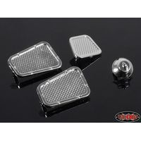 RC4WD Land Rover Defender D90 Chrome Vents and Fuel...