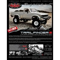 RC4WD Trail Finder 2 Truck Kit w/Mojave II Body Set Z-K0049