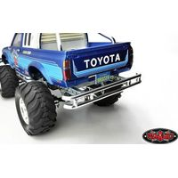 RC4WD Steel Tube Rear Bumper for Tamiya Hilux & Bruiser...