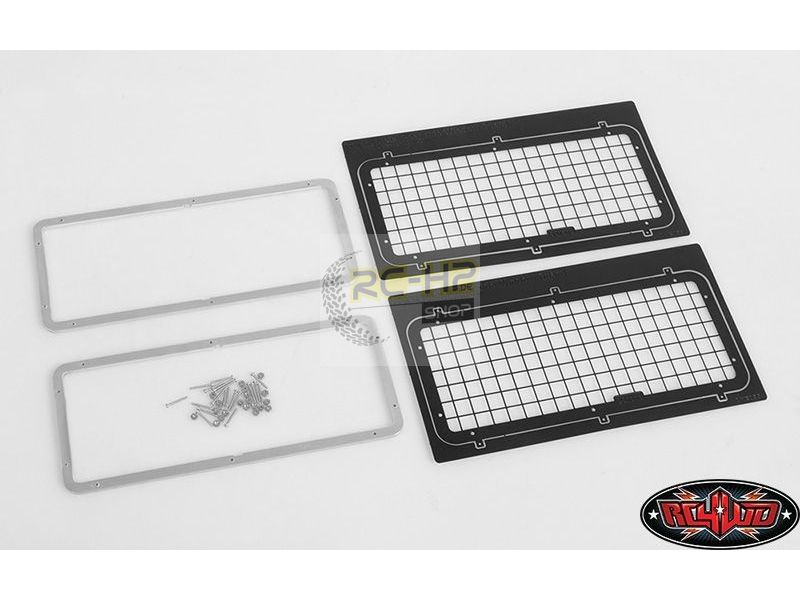 Rc4wd Side Windows Guard Pair For Land Rover Defender D90