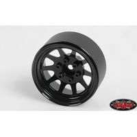RC4WD OEM Stamped Steel 1.9 Beadlock Wheels (Black) Z-W0210
