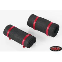 RC4WD 1/10 Sleeping Mat w/Straps (Black) Z-S1302
