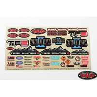 RC4WD RC4WD Logo Decal Sheet Z-S1274