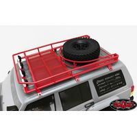 RC4WD Krabs Roof Rack w/Spare Tire Mount for Axial SCX10...