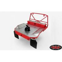 RC4WD Rear Tube Bed w/Mud Flaps for Trail Finder 2 (Red...