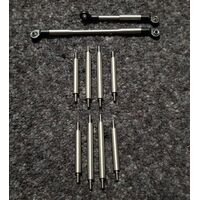 MST CFX / CMX Messing X-Link Set 6mm Radstand 242mm 68g...