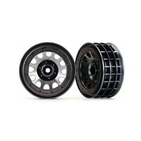 Traxxas Felgen Method 105 2.2 (black chrome, beadlock)...