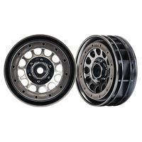 Traxxas Felgen Method 105 1.9 (black chrome, beadlock)...