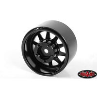 RC4WD Deep Dish Wagon 1.55 Stamped Steel Beadlock Wheels (Black) Z-W0281